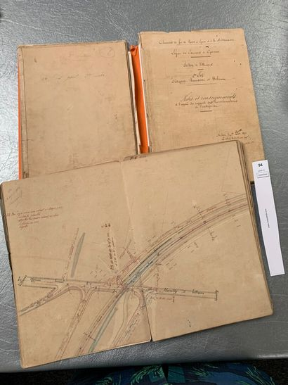 [Manuscrit] Compagnie des Chemins de Fer...
