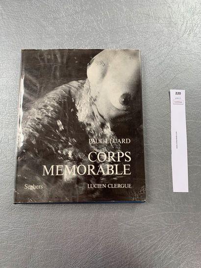 [Photographies]. Paul Eluard et Lucien Clergue....