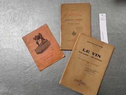 [Vin] Ensemble de 3 volumes: Vinification,...