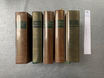 [La Pléiade]. Ensemble de 5 volumes: Paul...