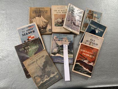 Paul Chack. Un ensemble de 11 volumes br...