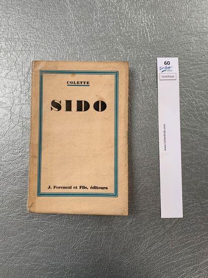 Colette. Sido. Edition originale numérotée...