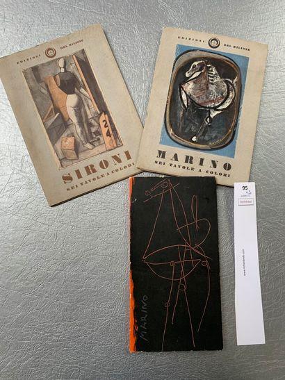 [Peinture italienne]. Un ensemble de 3 brochures:...