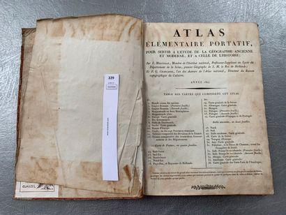 Mentelle et Chanlaire. Atlas élémentaire...