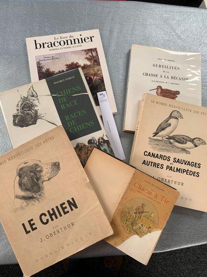 [Chasse]. Un ensemble de 6 volumes dont:...