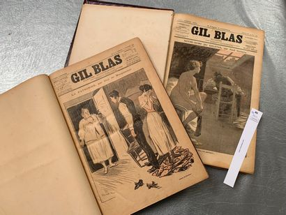 Gil Blas illustré. Du n°1 du 28 juin 1891...
