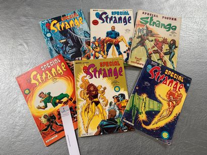 [Bandes-dessinées - Comics]. Marvel. 6 numéros...