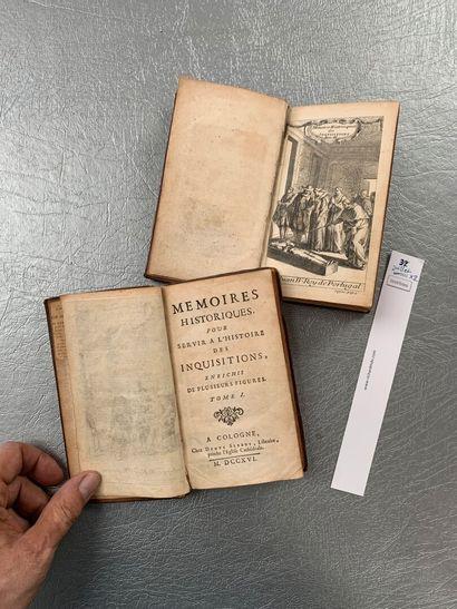 Dupin (Louis Ellies) Mémoires historiques pour servir à l'histoire des Inquisitions....