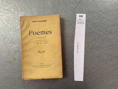 Emile Verhaeren. Poèmes (troisième série)....