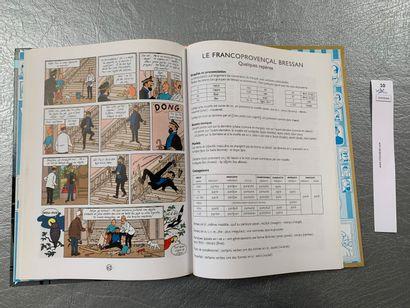[Bandes-dessinées Hergé - Tintin]. Lé pèguelyon de la Castafiore. Tintin en bre...