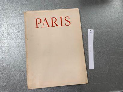 Paris. Texte de Léon-Paul Fargue. Illustrations...