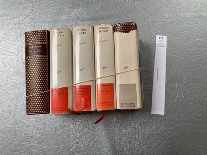 [La Pléiade]. Histoire de l'art. 4 volumes....