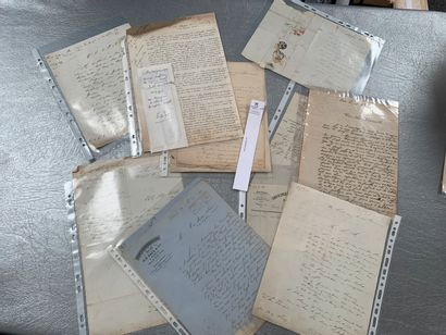 [Franc-maçonnerie]. 10 documents franc-maçonniques...