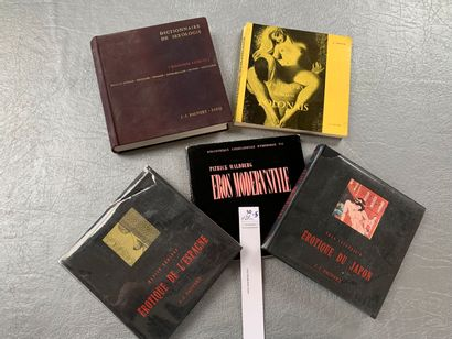 [Erotisme Curiosa]. 5 volumes édités chez...