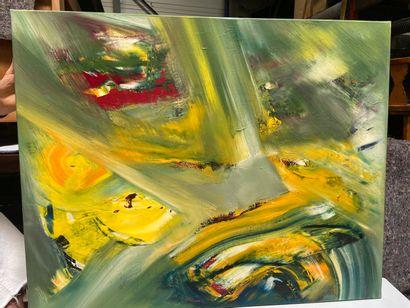 Michel REMERY  huile sur toile  81x65