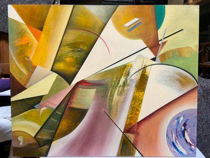Michel REMERY  huile sur toile, 2009  Signée...