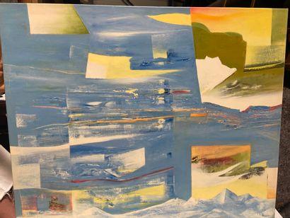 Michel REMERY  huile sur toile  Signée en...