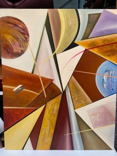 Michel REMERY  huile sur toile, 2010  Signée...