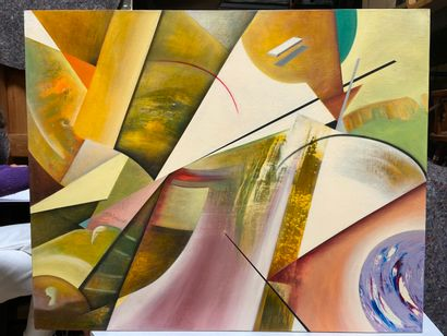 Michel REMERY  huile sur toile, 2009  Signée en bas à droite  81x100 cm