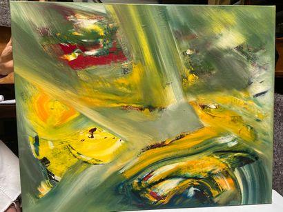 Michel REMERY  huile sur toile  81x65 cm