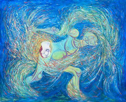 Vincent GONZALEZ (1928-2019)  Panneau peint...