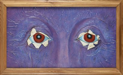 Vincent GONZALEZ (1928-2019)  Les yeux de...