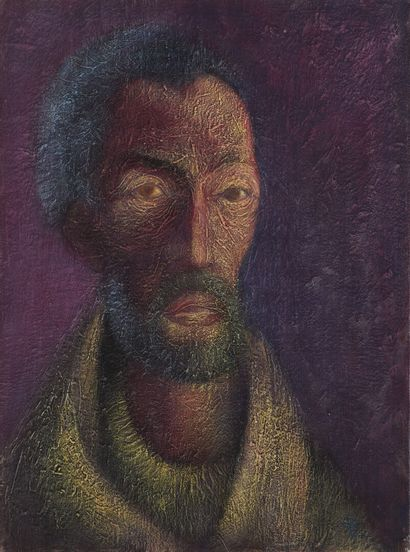 Vincent GONZALEZ (1928-2019)  Autoportrait,...