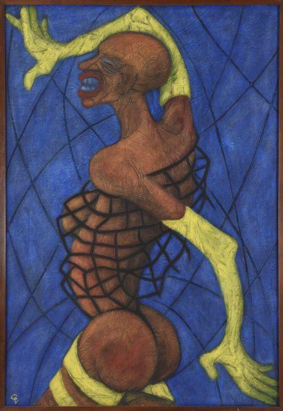 Vincent GONZALEZ (1928-2019)  Femme debout,...