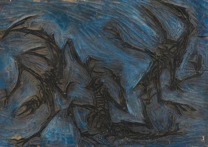 Vincent GONZALEZ (1928-2019)  Danse macabre,...