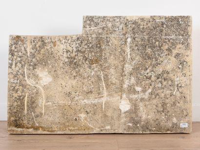 Vincent GONZALEZ (1928-2019)  Calypso,  Sujet en pierre calcaire,  H: 60 cm; L:...