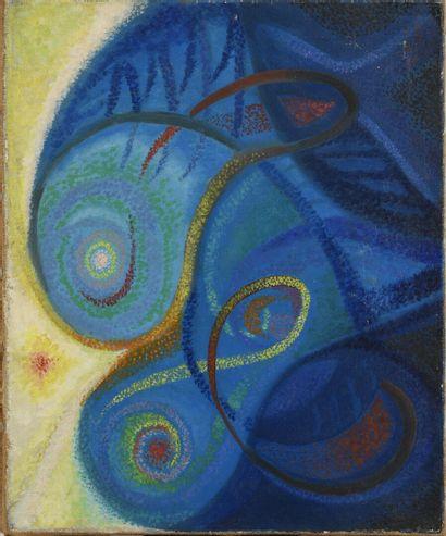 Léon BELLOT(1893-1973),  Fontaine chromatique,...