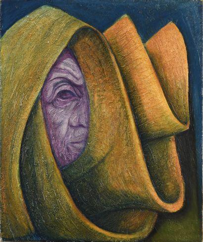 Vincent GONZALEZ (1928-2019)  Mon oeil (autoportrait),...