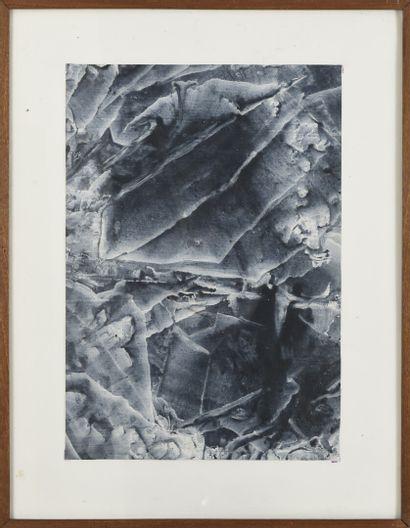 Vincent GONZALEZ (1928-2019)  Lavis sur papier,...