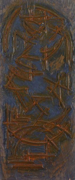 Vincent GONZALEZ (1928-2019)  Bois sculpté...