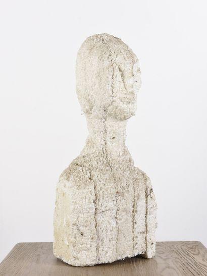 Vincent GONZALEZ (1928-2019)  Buste de femme,...