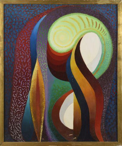 Léon BELLOT(1893-1973),  La Sultane,  Signé...