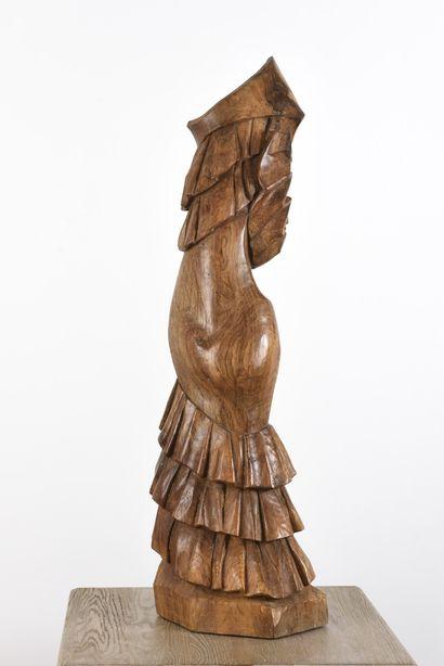 Vincent GONZALEZ (1928-2019)  Flamenco,  Sujet...