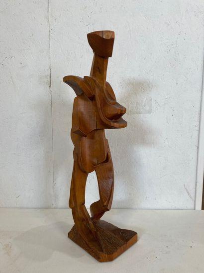 Vincent GONZALEZ (1928-2019)  Sculpture  Monogrammé...