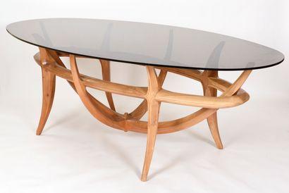Vincent GONZALEZ (1928-2019)  Table de salle...