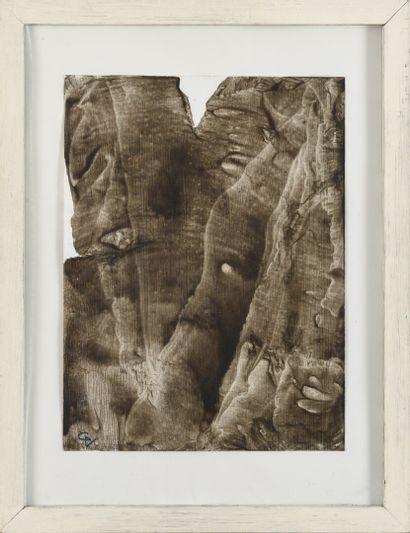 Vincent GONZALEZ (1928-2019)  Trois lavis...