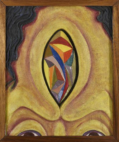 Vincent GONZALEZ (1928-2019)  Troisième oeil,...