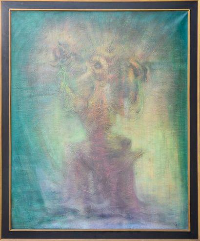 Vincent GONZALEZ (1928-2019)  Apocalypse,...