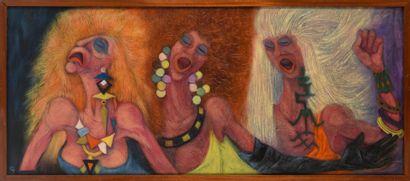 Vincent GONZALEZ (1928-2019)  Les Trois Grâces,...