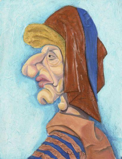 Vincent GONZALEZ (1928-2019)  Le teinturier...