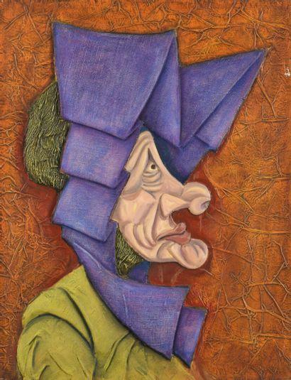 Vincent GONZALEZ (1928-2019)  Gueule de profil,...