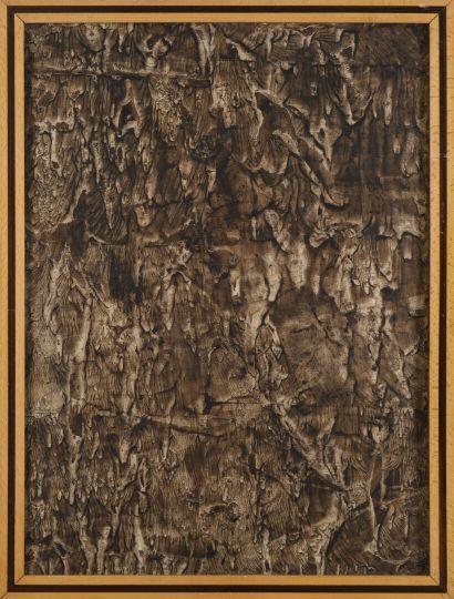 Vincent GONZALEZ (1928-2019)  Lavis d'encre...