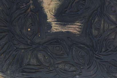 Vincent GONZALEZ (1928-2019)  Bois gravé...