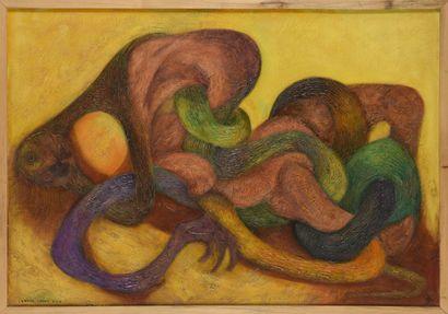 Vincent GONZALEZ (1928-2019)  L'Enfer chant...
