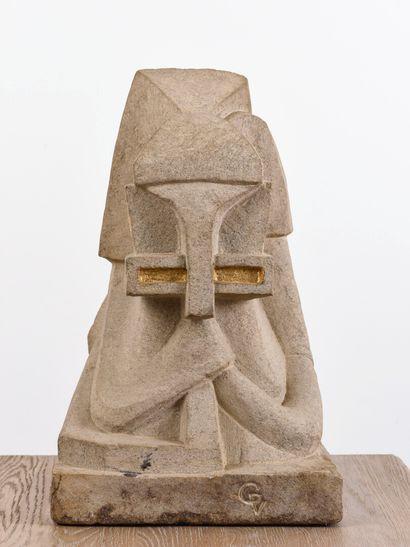 Vincent GONZALEZ (1928-2019)  Figure stylisée,...