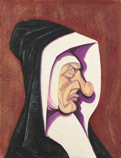 Vincent GONZALEZ (1928-2019)  Le Succube,...